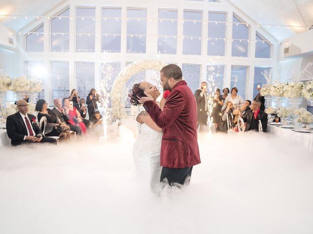 Kenny and Tamika's Wedding in Pasadena, Maryland 47