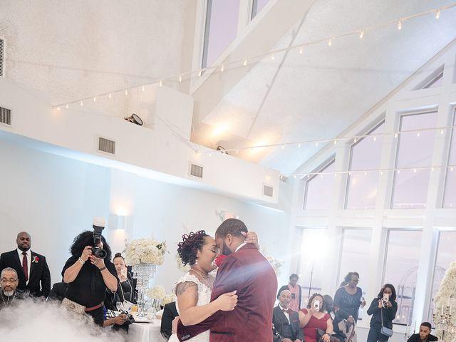 Kenny and Tamika's Wedding in Pasadena, Maryland 48