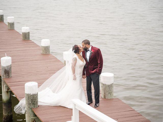 Kenny and Tamika's Wedding in Pasadena, Maryland 56