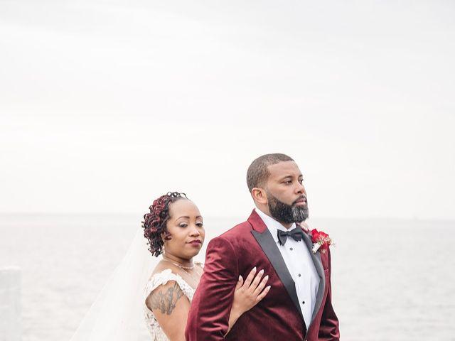 Kenny and Tamika's Wedding in Pasadena, Maryland 58