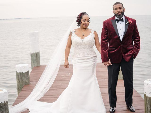 Kenny and Tamika's Wedding in Pasadena, Maryland 59