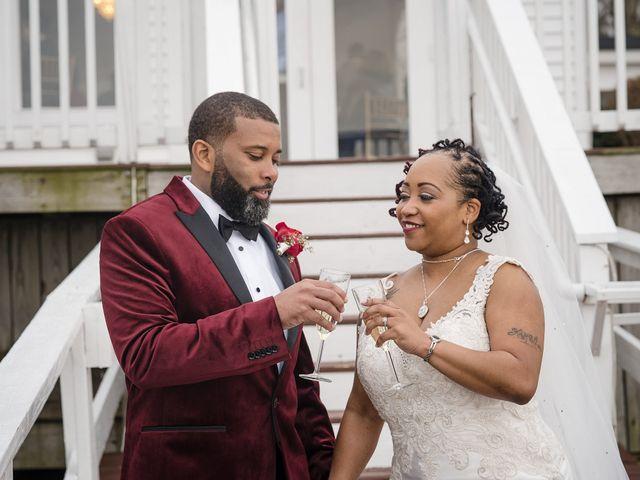 Kenny and Tamika's Wedding in Pasadena, Maryland 61