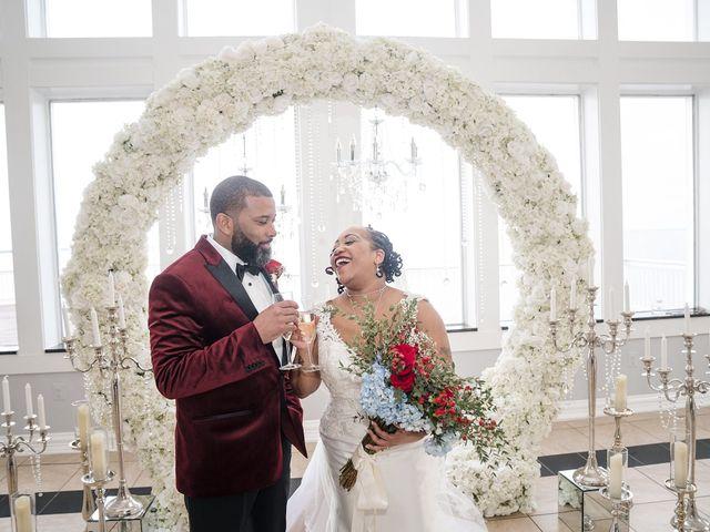 Kenny and Tamika's Wedding in Pasadena, Maryland 62