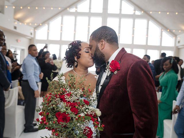 Kenny and Tamika's Wedding in Pasadena, Maryland 63