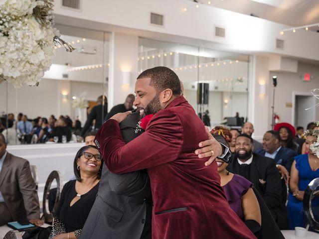 Kenny and Tamika's Wedding in Pasadena, Maryland 71
