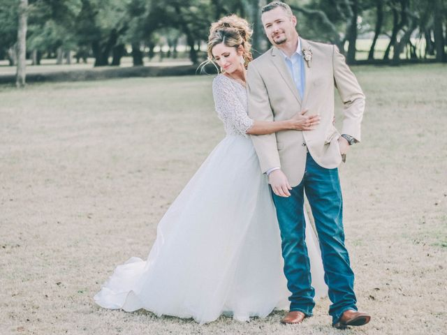 The wedding of James and Brittney