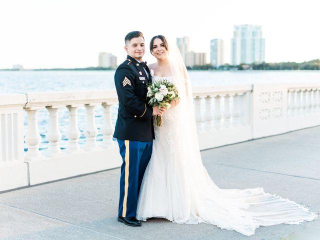 The wedding of Sophia and Marco
