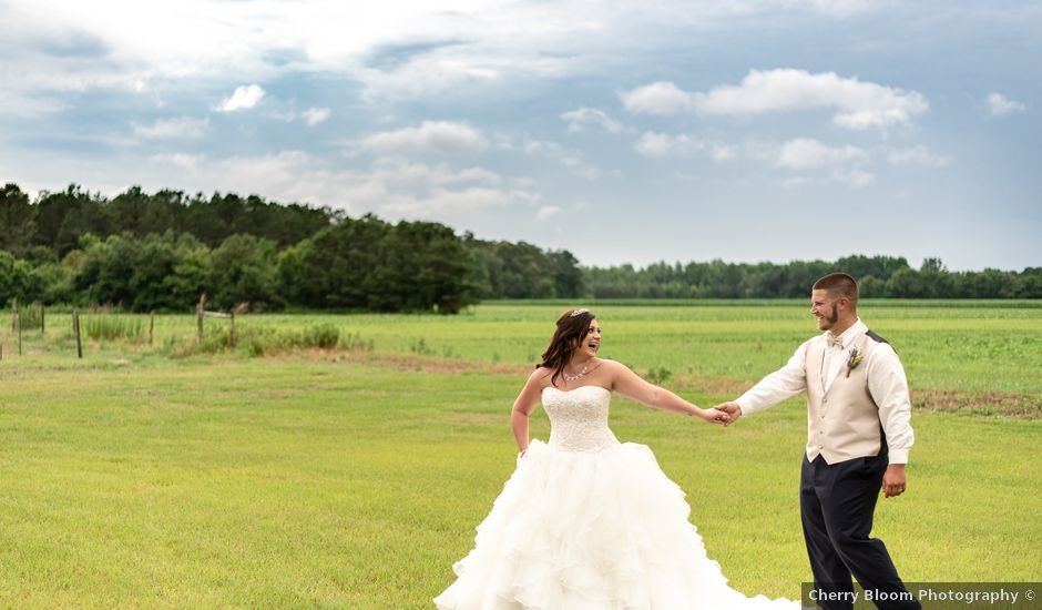 Matthew and Brianna's Wedding in Saint Pauls, North Carolina