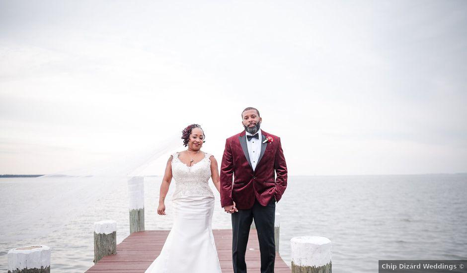 Kenny and Tamika's Wedding in Pasadena, Maryland