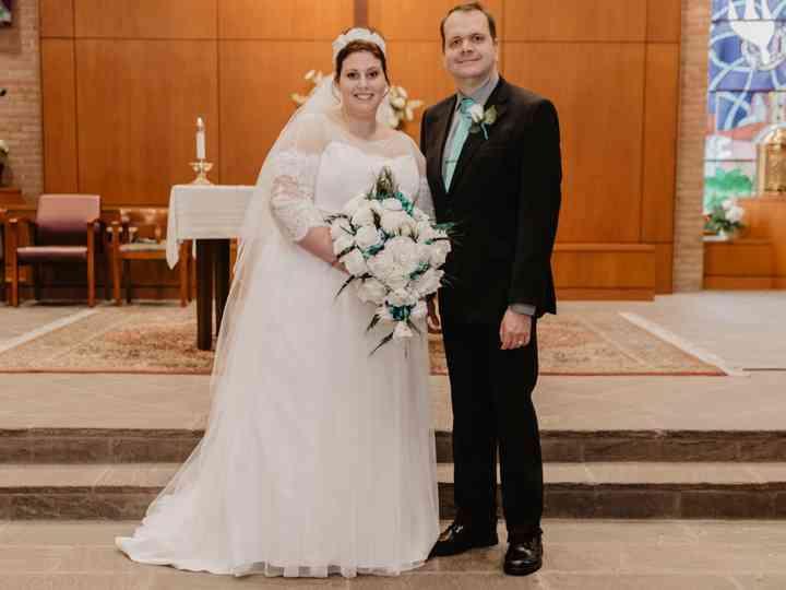 The wedding of Katherine and Matthew
