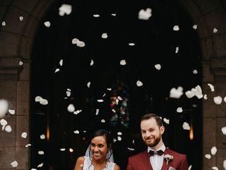 The wedding of Clémence and Nicolas