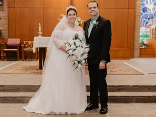 The wedding of Katherine and Matthew