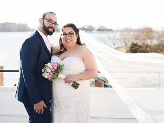 The wedding of Jon and Julissa