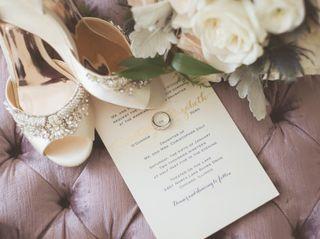The wedding of Elizabeth and Courtney 1