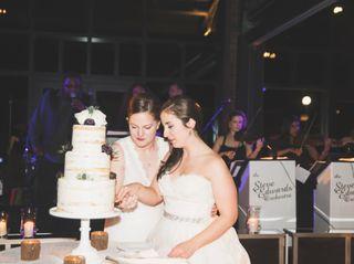The wedding of Elizabeth and Courtney
