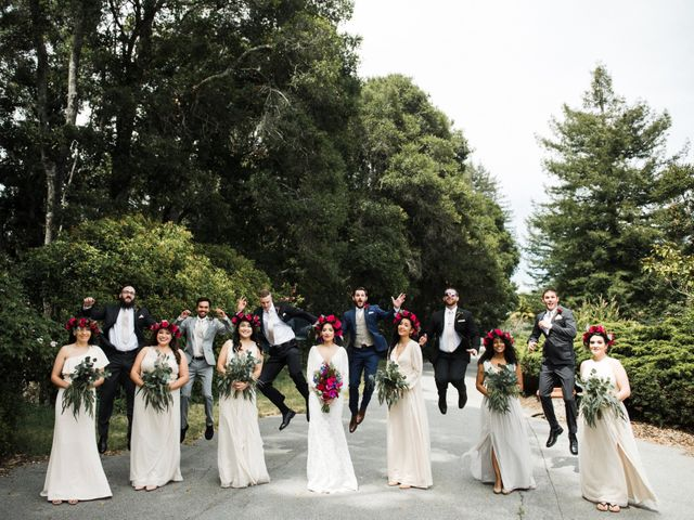 Natalie and Thomas's Wedding in Soquel, California 24