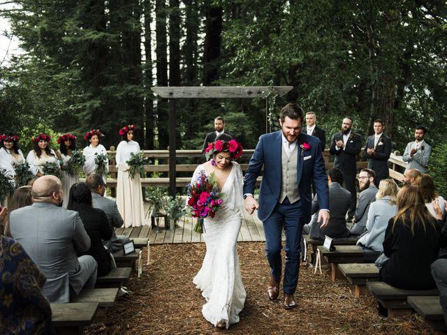 Natalie and Thomas's Wedding in Soquel, California 46
