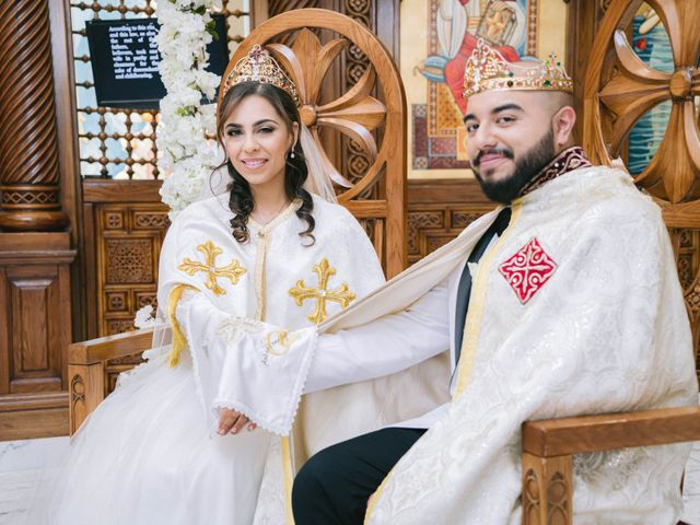 The wedding of Mena and Sandra