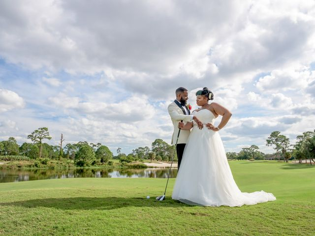 The wedding of Carl and Venassa