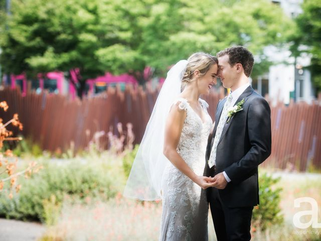 The wedding of Katie and Eric