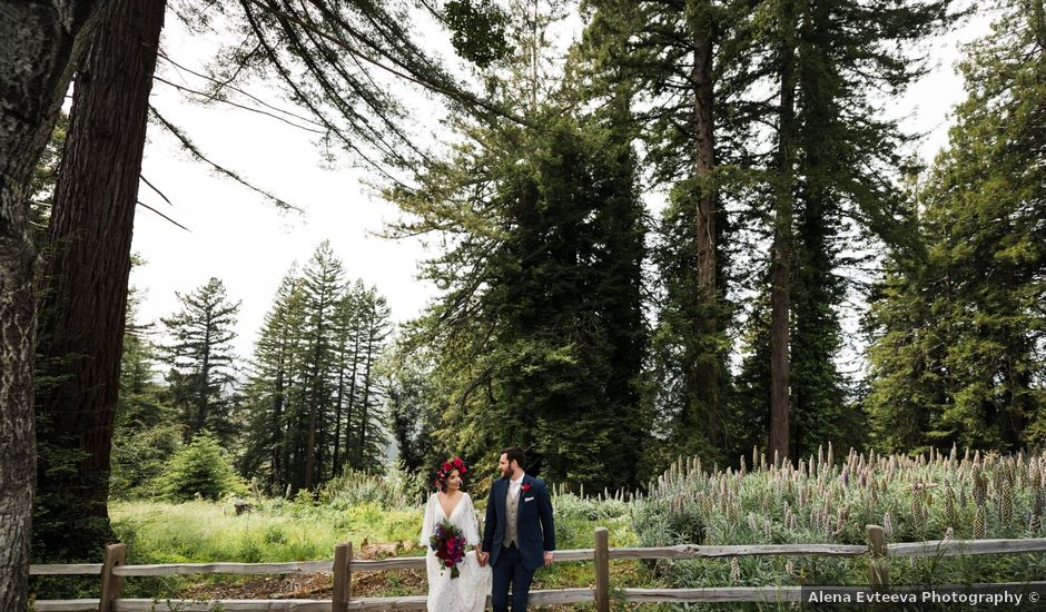 Natalie and Thomas's Wedding in Soquel, California