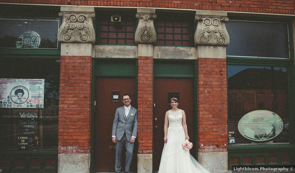 Katie and Nathan's Wedding in Toledo, Ohio