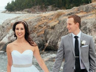 The wedding of Stephen and Carrie