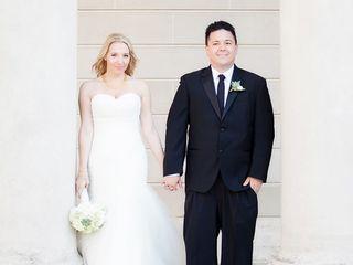 The wedding of Matt and Robin