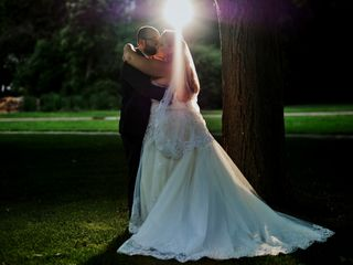 The wedding of Amber and Brett