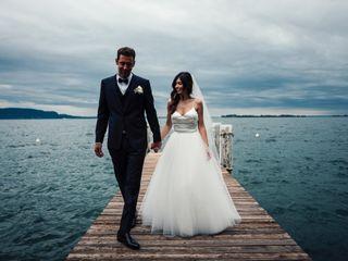 The wedding of James and Sara