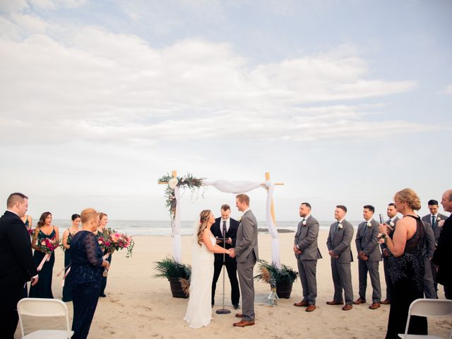 Andrew and Kristin's Wedding in Avon by the Sea, New Jersey 16