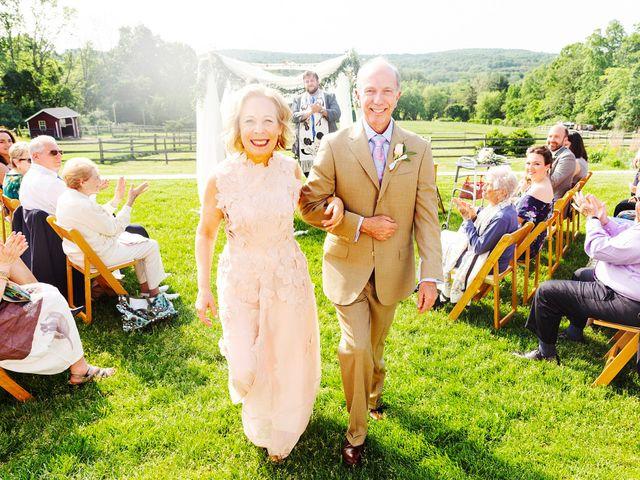 The wedding of Joni and Dan