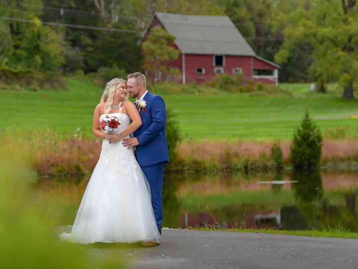 The wedding of Kimberly and Rafe
