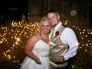 The wedding of Kandace and Chad