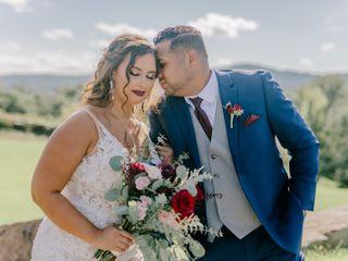 The wedding of Josh and Brianna