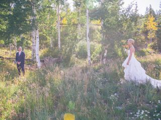 Lexi and Autie's wedding in Colorado 11