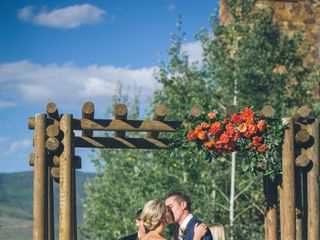 Lexi and Autie's wedding in Colorado 18