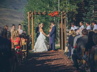 Lexi and Autie's wedding in Colorado 17