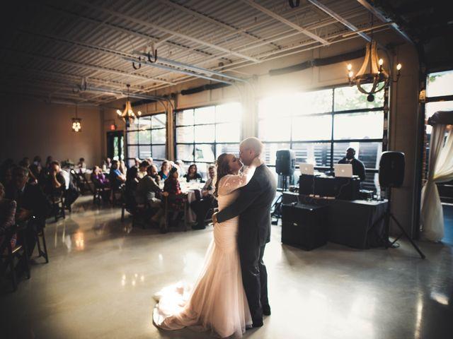 The wedding of Caroline and Nathan