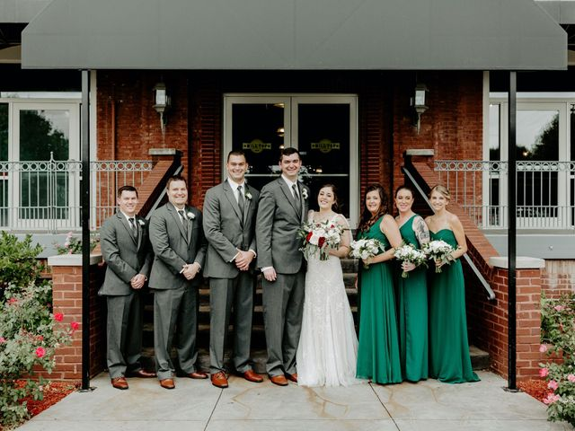 Zach and Hayley's Wedding in Noblesville, Indiana 13
