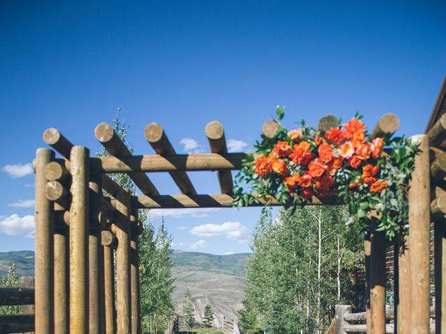 Lexi and Autie's wedding in Colorado 13