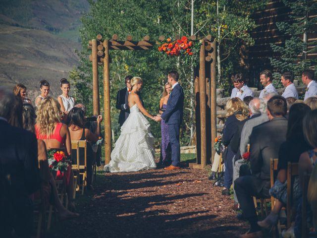 Lexi and Autie's wedding in Colorado 17