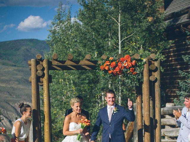 Lexi and Autie's wedding in Colorado 19