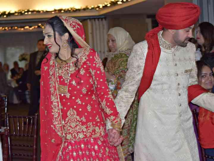 The wedding of Maham and Nabeel