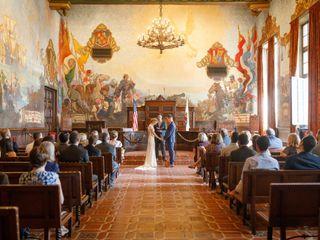 Avery and Kattie's Wedding in Santa Barbara, California 49