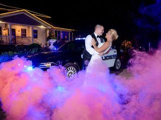 The wedding of Vicki and Dave