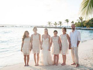 Rachael and Bryan's Wedding in Oranjestad, Aruba 14