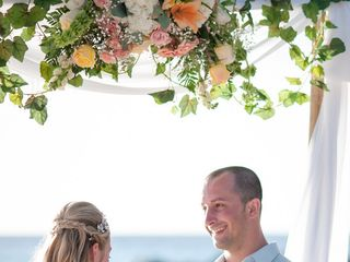 Rachael and Bryan's Wedding in Oranjestad, Aruba 10