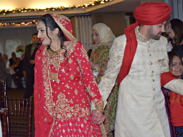 The wedding of Maham and Nabeel