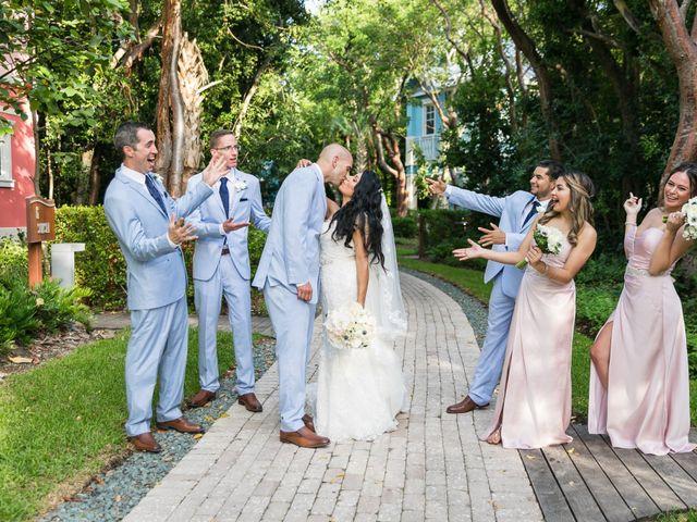 Steven and Sally's Wedding in Key Largo, Florida 14